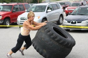 Back and Forth Tire Flip
