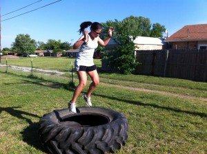 Tire Box Jumps