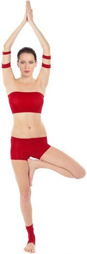 Vrksasana weight loss pose