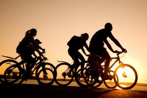 cycling_into_the_sunset