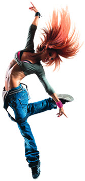 burn fat with hip hop dance