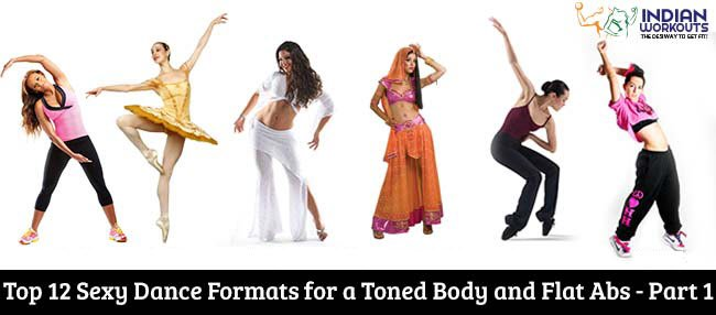 dance forms for toned body and abs