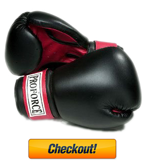 ProForce Leatherette Boxing Gloves