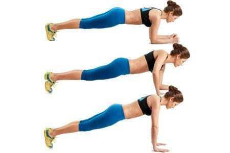 Body Weight Triceps Extensions