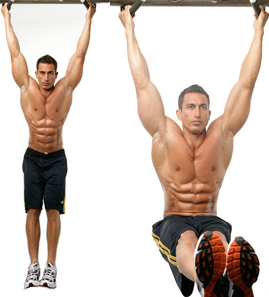 Hanging Leg Raise exercise