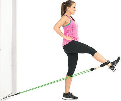 Leg Extension with resistance band