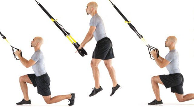 TRX Knee Drive exercise