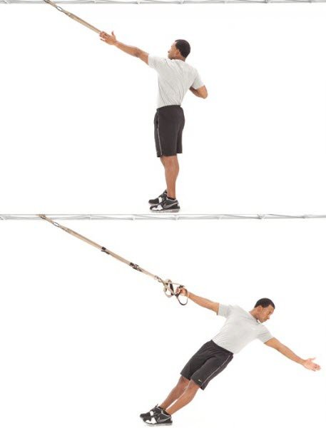 TRX Powerpull exercise