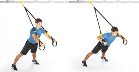 TRX Press Up exercise