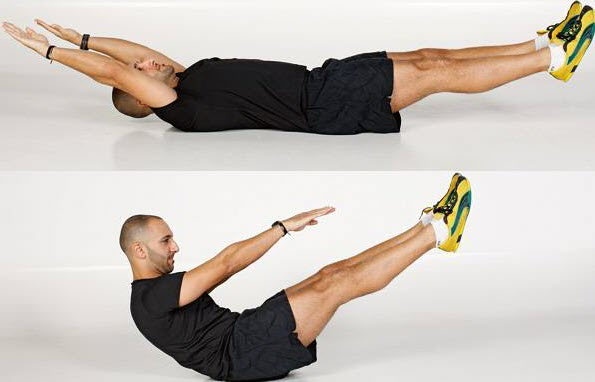 V-Sit Up exercise