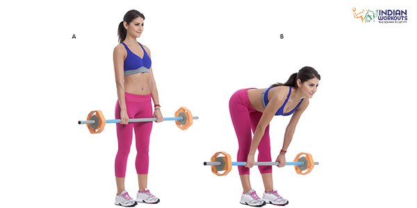 Barbell Deadlifts for Legs