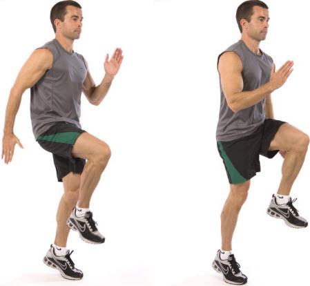 High Knee Drill