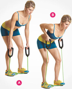 Resistance Band Rows