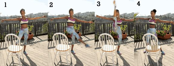 Fan Kicks with Chair 1