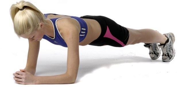 Forearm plank 1