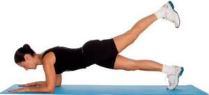 Plank with Leg Raise