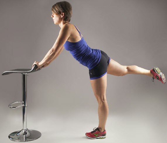 Standing Leg Raise with Chair1