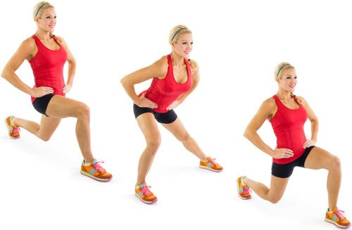 Three-Way Lunge
