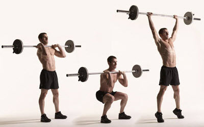 barbell-thruster-workout