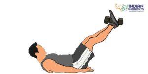 weighted-leg-raise