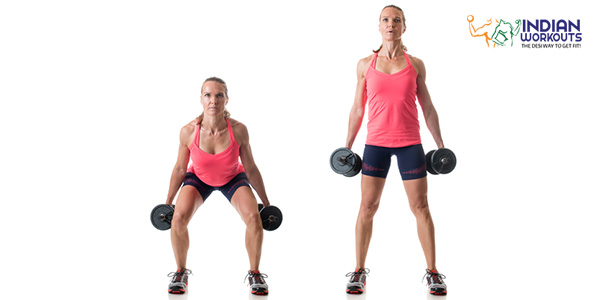 dumbbell-squat
