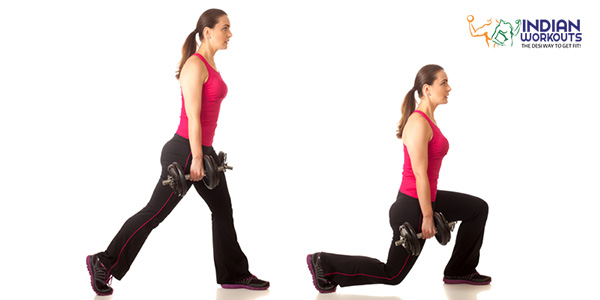 stationary-lunges