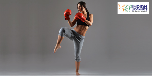 shadow boxing exercises to lose weight