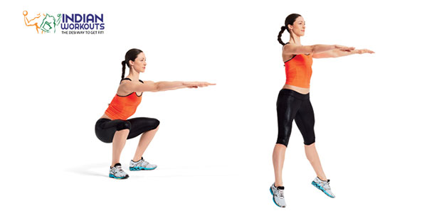 Plyometric-Squat