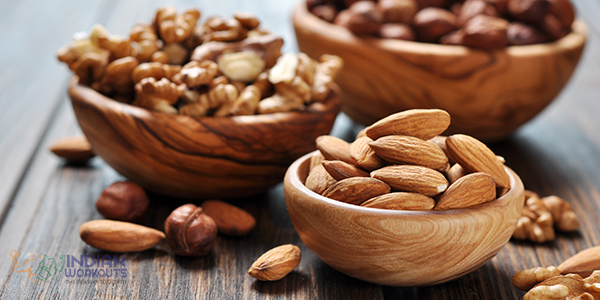 Walnuts Almonds