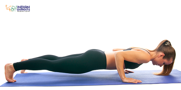 Inch-worm Chaturanga training workout