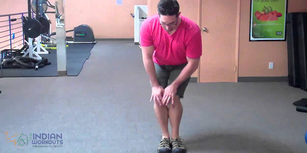 knee circle exercise