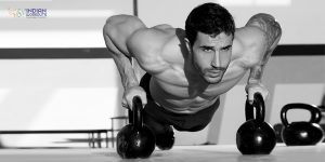 push-up-on-1-kettle-bell