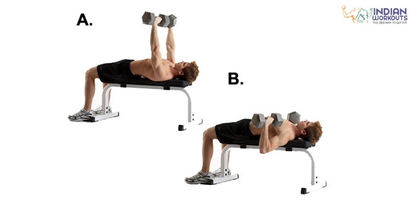 dumb-bell-flat-bench-press