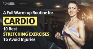 Cardio warm up Exercises for Strength training