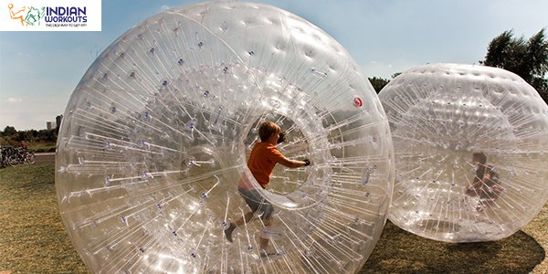 zorbing - unconventional sports fitness
