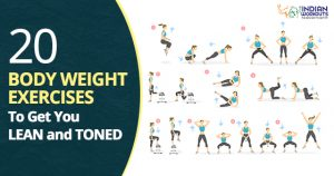 20 Body weith workouts for your health