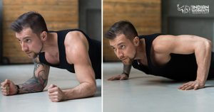 Plank-to-Push-Up