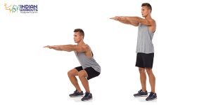 Squats workout for Lower back