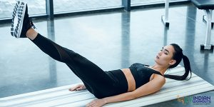 V-Up workouts for core strengthening