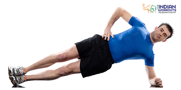 Push-Up With Rotation